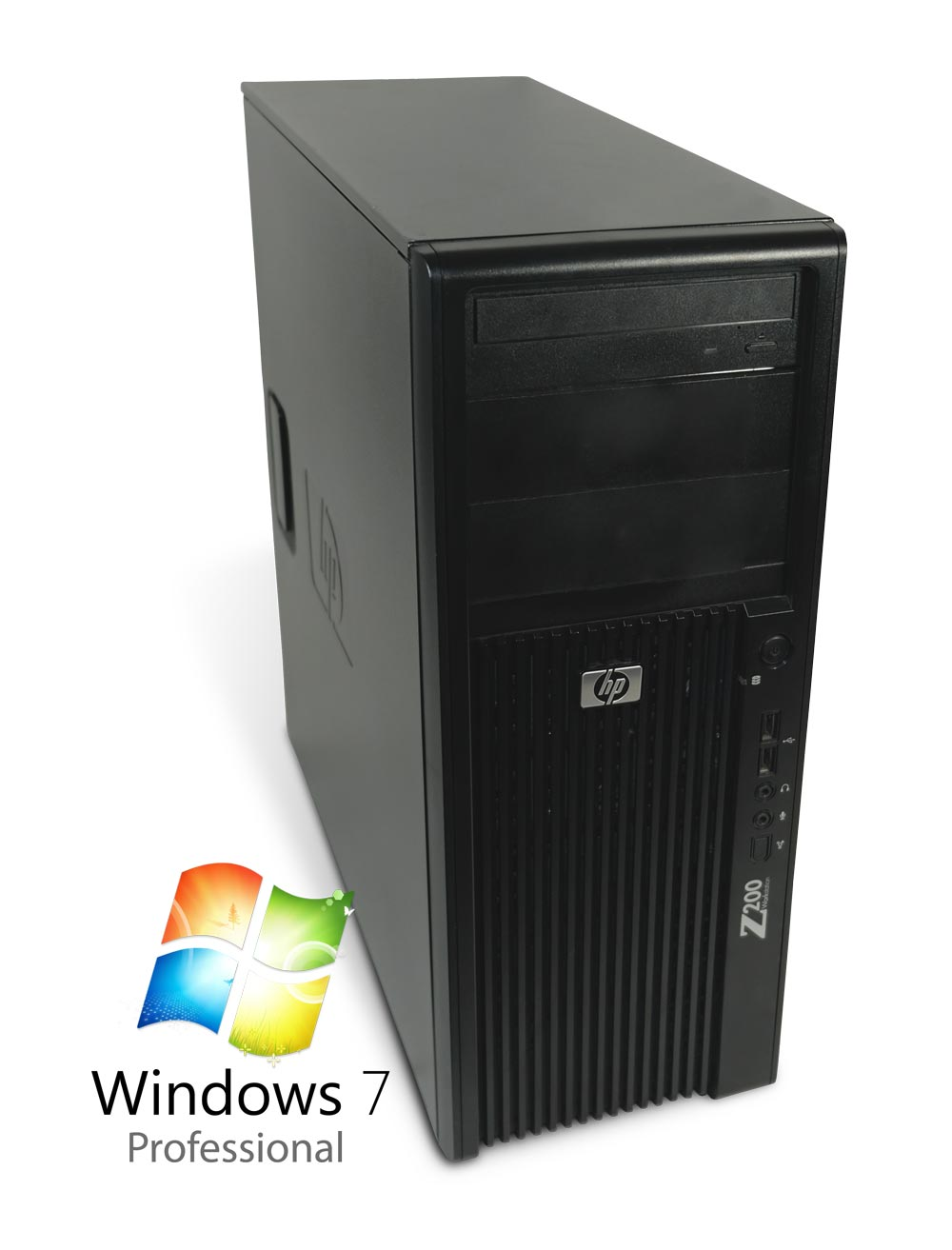 gebraucht pc computer hp z200 workstation core i7 4x 2. Black Bedroom Furniture Sets. Home Design Ideas