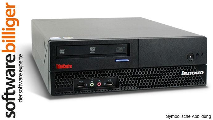 Gebraucht Office Computer Lenovo M57 Core 2 Duo 2.4GHz 4GB 320GB Win 7 Pro 64Bit