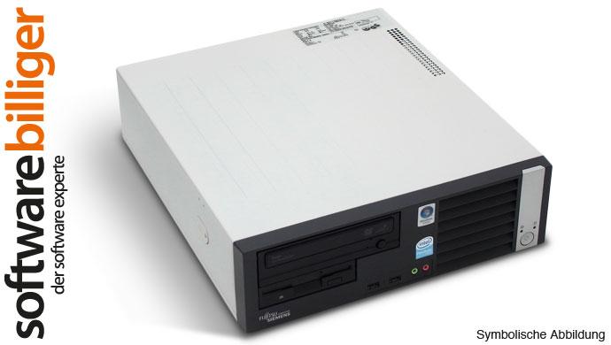 Office PC FSC E5720 Esprimo Core 2 Duo 3GHz 2GB DDR2 160GB Win 7 Pro 32 Bit