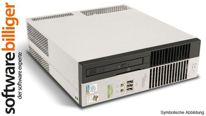 FSC Computer Esprimo C5900 Pentium 4 3.2 GHz 2GB PC Windows 7 Professional 32Bit