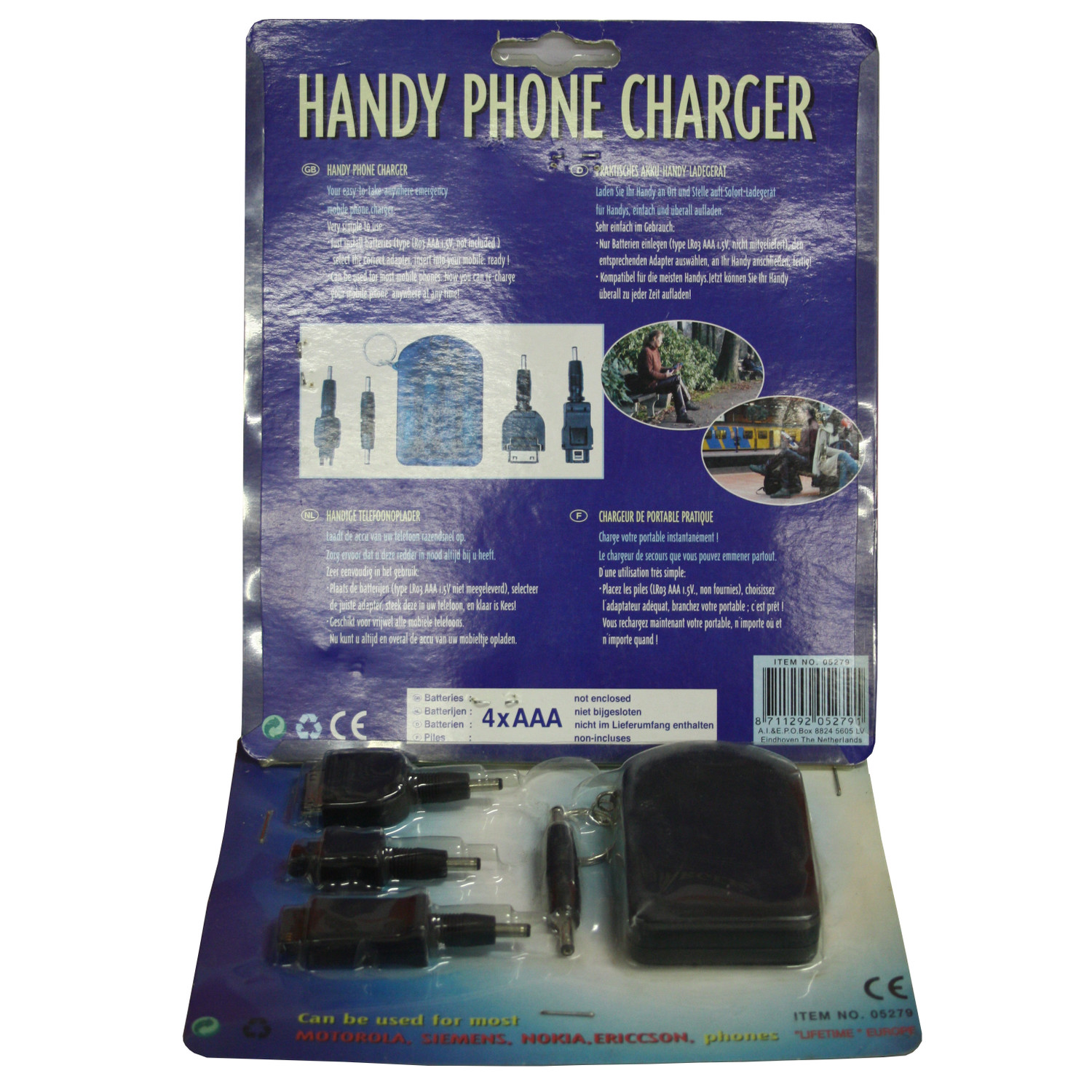handy phone charger notfall handy ladeger t f r unterwegs ebay. Black Bedroom Furniture Sets. Home Design Ideas