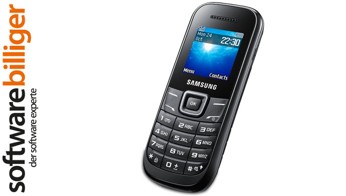 samsung handy mobil telefon keystone 2 gt e1200 gsm 900 1800 mhz neu schwarz ebay. Black Bedroom Furniture Sets. Home Design Ideas