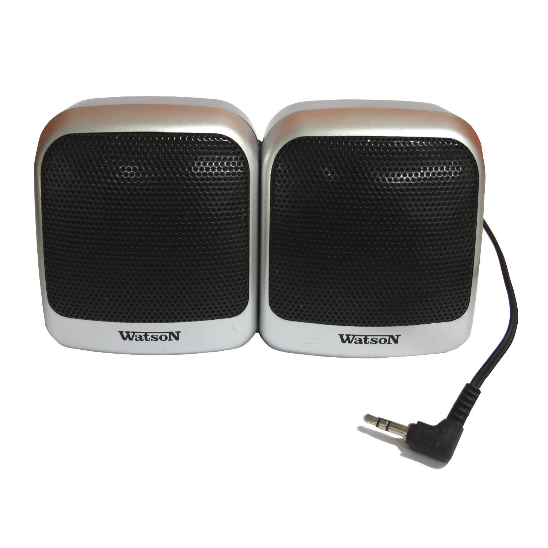 watson bx 6803 stereo lautsprecher mini passiv boxen f r. Black Bedroom Furniture Sets. Home Design Ideas