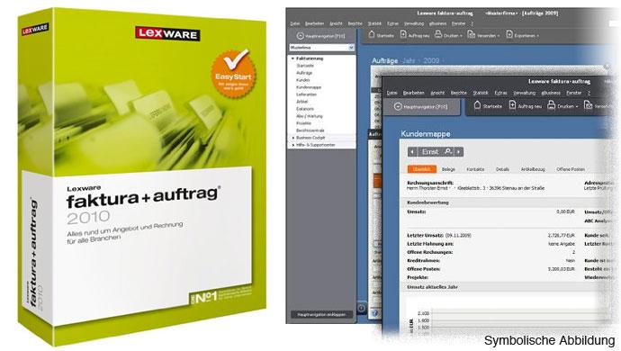 lexware faktura auftrag 2010 deutsch vollversion auftragsverwaltung bestellwesen ebay. Black Bedroom Furniture Sets. Home Design Ideas