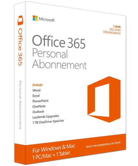microsoft office 365 personal word excel outlook zum. Black Bedroom Furniture Sets. Home Design Ideas