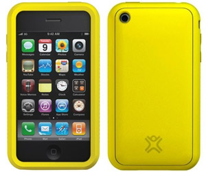 SoftCase Tuffwrap Yellow iPhone Schutzhülle 3G/3GS/4