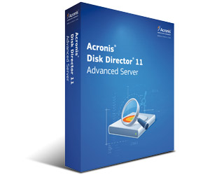 Acronis Disk Director 11 Advanced Server und Advanced Workstation