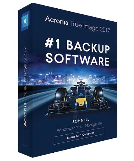 Acronis True Image 2017 - Box-Pack - 1 User