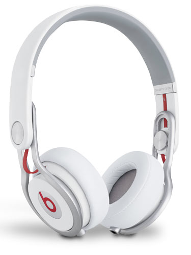 beats by dr dre mixr white refurbished f r dj. Black Bedroom Furniture Sets. Home Design Ideas