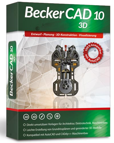 BeckerCAD 10 - 3D für Windows