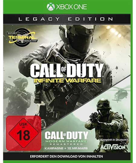 Call of Duty: Infinite Warefare XBOX ONE - Legacy Edition