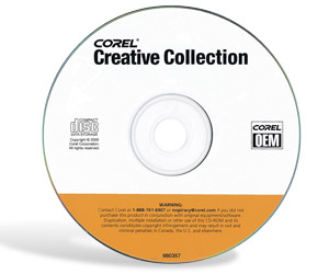Corel Creative Collection - CorelDRAW Essentials 2, Corel Paint Shop Pro Studio, Corel Paint Shop Photo Album 5