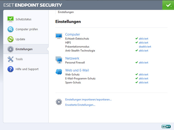 ESET Endpoint Security 10 PC / 1 Jahr