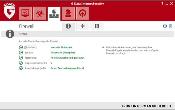 G Data Internet Security 2015 - 3 PC / 1 Jahr