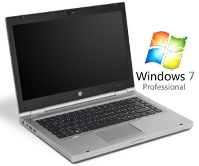 hp elitebook 8460p 14 zoll notebook mit windows 7 professional. Black Bedroom Furniture Sets. Home Design Ideas