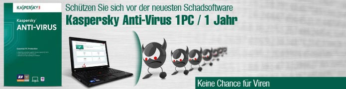 Kaspersky Anti-Virus - 1PC / 1Jahr - ESD