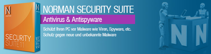 Norman Security Suite 11 - Antivirus & Antispyware - 1 PC / 1 Jahr - ESD