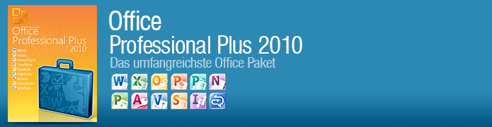 Office Professional Plus 2010 Aktivierungsschlüssel - Word, Excel, Power Point, OneNote, Outlook, Publisher, Access, InfoPath