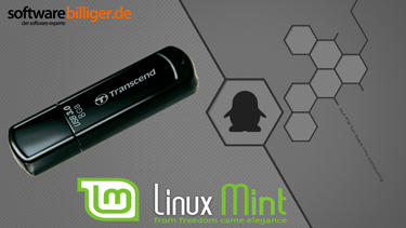 USB-Live Stick: Linux Mint 18 Cinnamon mit 64 Bit 8 GB USB 3.0