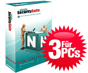 Norman Security Suite Antivirus & Antispyware 3 User - Box