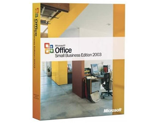 Microsoft Office 2003 Small Business - Word, Excel, Power Point, Outlook, Publisher, Business Contact Manager - MLK
