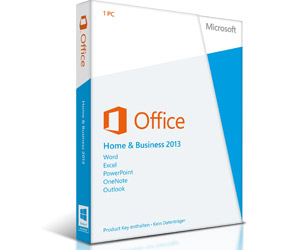 Microsoft Office 2013 Home and Business - Word, Excel, OneNote, PowerPoint, Outlook - PKC