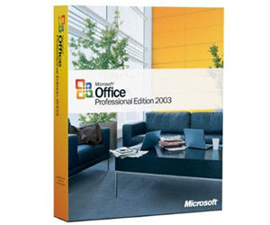 Microsoft Office 2003 Professional - Word, Excel, Power Point, Outlook, Publisher, Access, Business Contact Manager