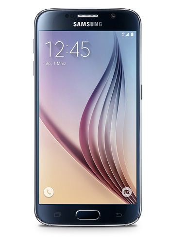 Samsung Galaxy S6 Black Sapphire - 5,1 Zoll Smartphone - 32 GB, Android 7, 4G LTE