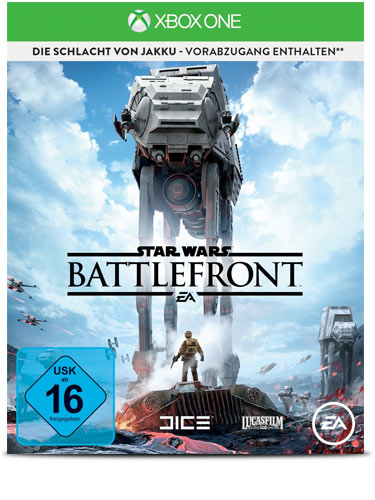 Star Wars: Battlefront Day One Version Import AT - XBox One