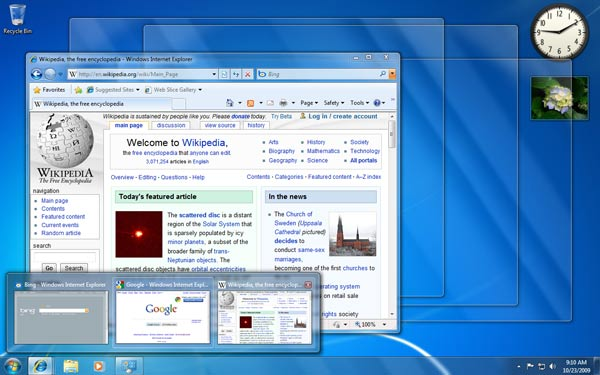 Windows 7 Home Premium 64 Bit Userinterface