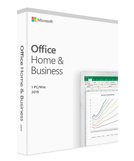 Microsoft Office Home and Business 2019 Box Pack