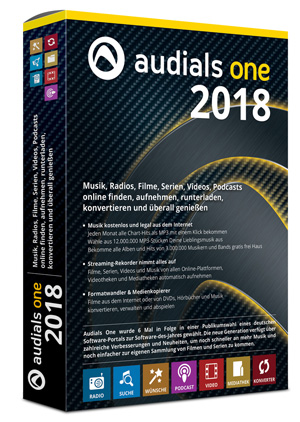 Audials One 2018 - ESD