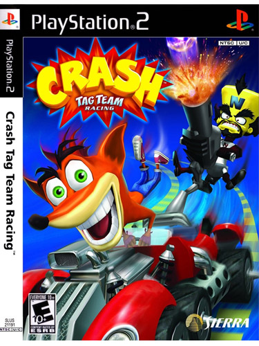 Crash Tag Team Racing PSP Platinum