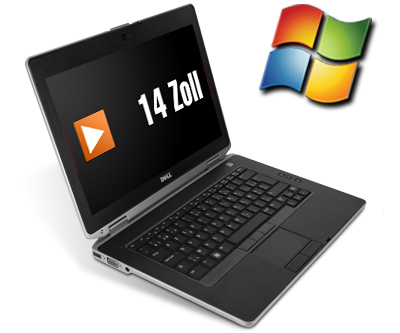 Dell Latitude E6430 14 Zoll Laptop Notebook - Intel Core i5-3320M 2x 2,6 GHz DVD-Brenner - Windows