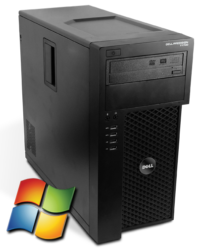 Dell Precision T1700 Workstation Tower PC Computer - Intel Core i7-4770 4x 3,4 GHz DVD-Brenner - Windows