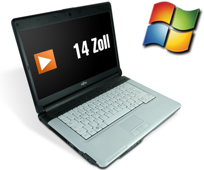Fujitsu LifeBook S710 14 Zoll Laptop Notebook - Intel Core i5 2x 2,4 GHz DVD-Brenner WebCam - Windows