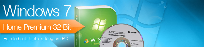 Windows 7 Home Premium 32 Bit - MAR Refurbished