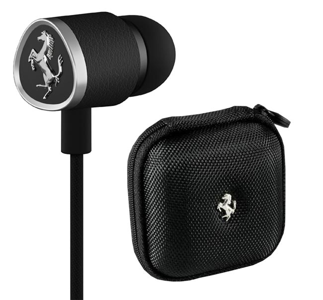 Logic3 - Ferrari G150i Cavallino Collection - Headset - Schwarz