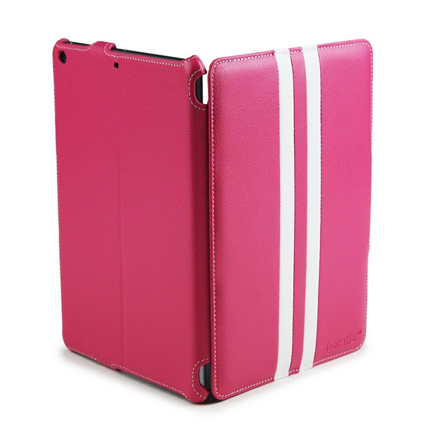 Noratio Smart Cover - Retro Style für iPad Air - rosa