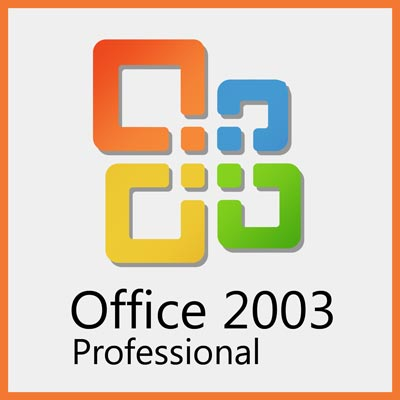 Microsoft Office 2003 Professional - Word, Excel, Power Point, Outlook, Publisher, Access, Business Contact Manager - MLK