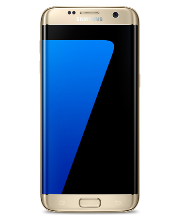 Samsung Galaxy S7 Edge - 5,5 Zoll Smartphone - Gold - 64 GB 4G Android 7