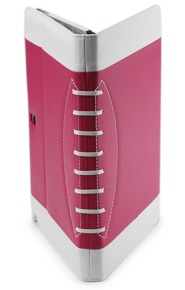 Noratio Smart Cover - Football Style für Galaxy Note 2014 Edition / TapPRO 10.1 - rosa